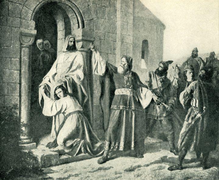 Svatý Vojtěch hájící cizoložnici